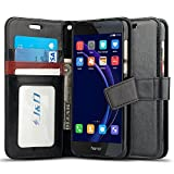 J&D Case Compatible for Huawei Honor 8 Case, Wallet Stand