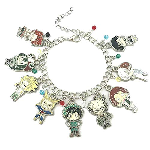 My Hero Academia Anime Manga Charm Bracelet Quality Cosplay Jewelry Series