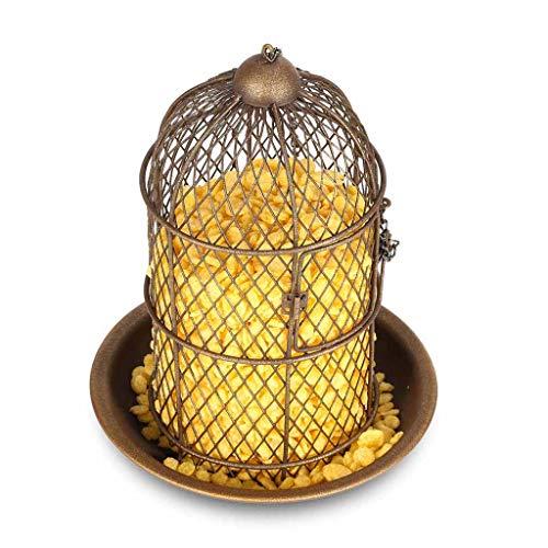 JXXDDQ Mangeoire pour Oiseaux Mangeoire pour Oiseaux Suspendu mangeoire pour Oiseaux Sauvages Jardin Décoration pour Oiseaux Cadeau pour la Maison Décoration Artisanat