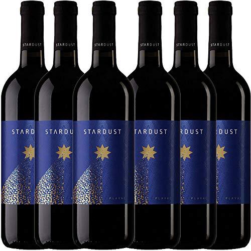 6x 0,75L Flaschen STARDUST Plavac Rotwein trocken Mazedonien 2015, 12,65%