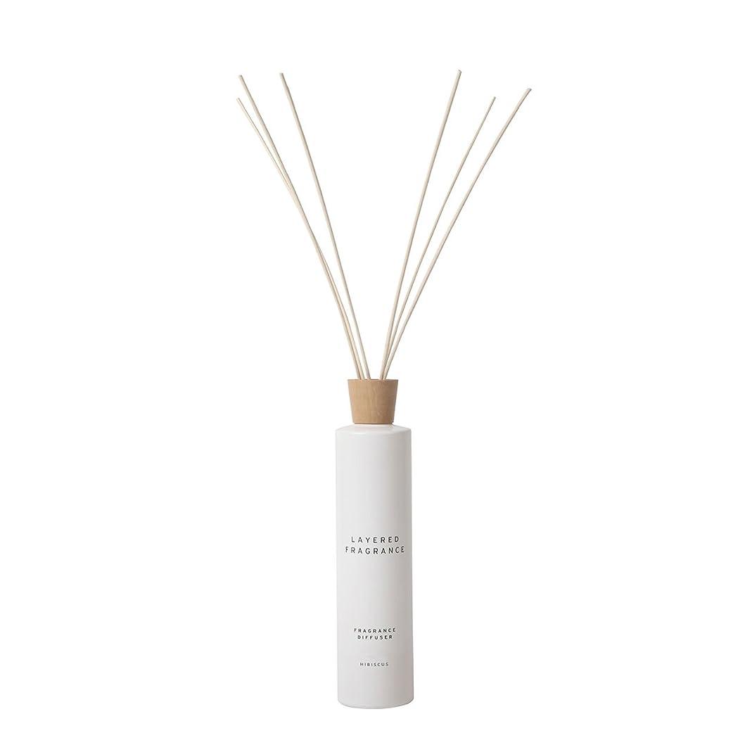 報酬の長老固執空間ごとに香りを使い分けて楽しむ レイヤードフレグランス フレグランスディフューザー ハイビスカス 500ml
