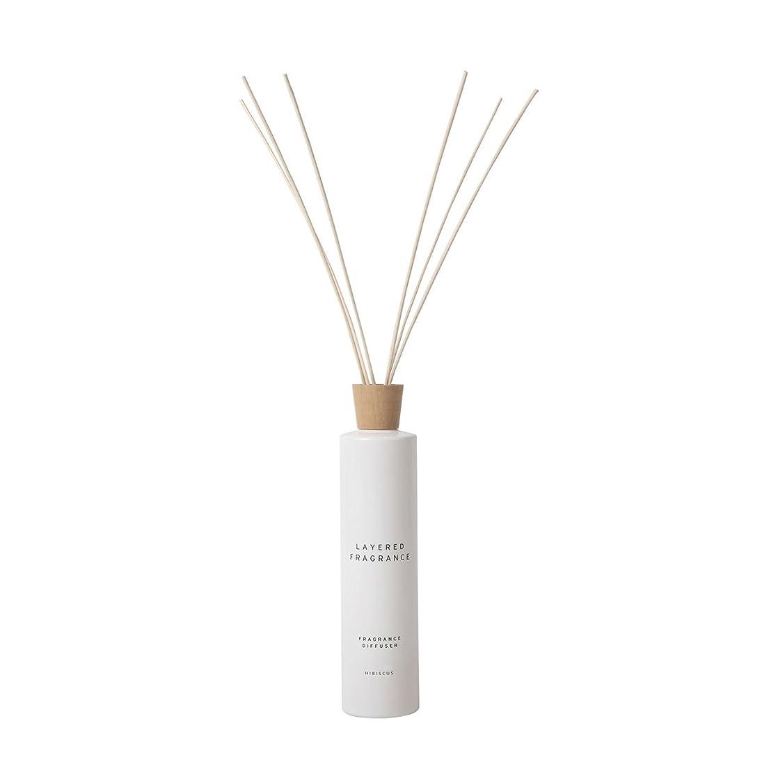 散文雰囲気メッシュ空間ごとに香りを使い分けて楽しむ レイヤードフレグランス フレグランスディフューザー ハイビスカス 500ml