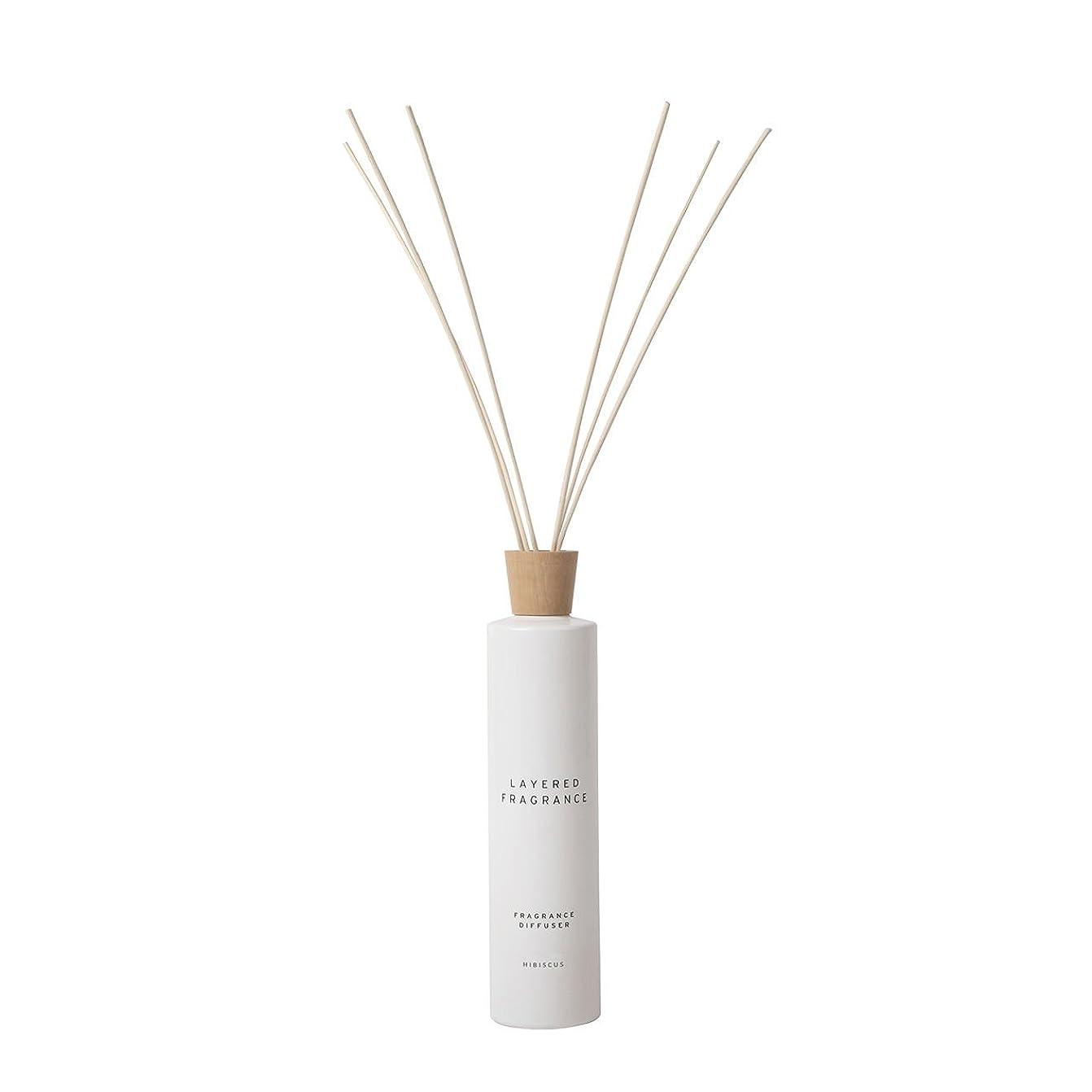 不忠ストロークポール空間ごとに香りを使い分けて楽しむ レイヤードフレグランス フレグランスディフューザー ハイビスカス 500ml