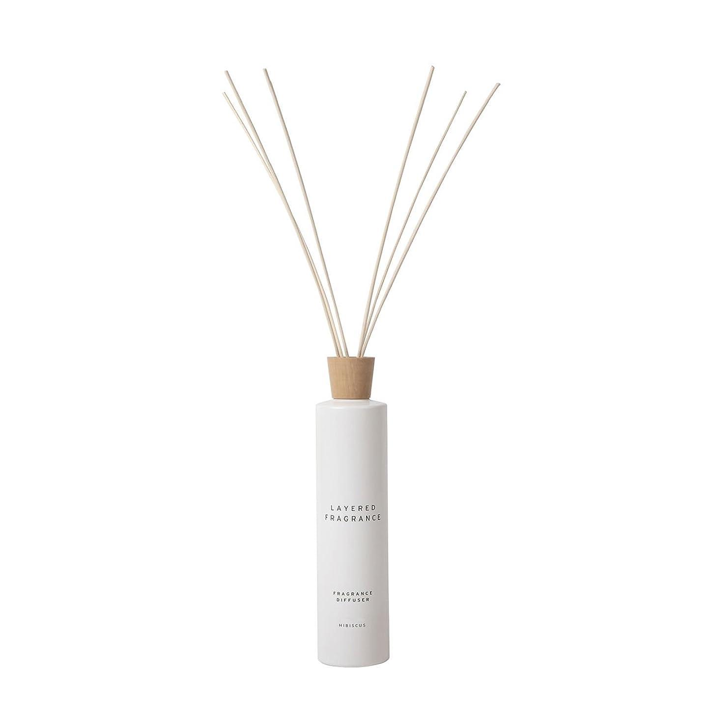 空間ごとに香りを使い分けて楽しむ レイヤードフレグランス フレグランスディフューザー ハイビスカス 500ml