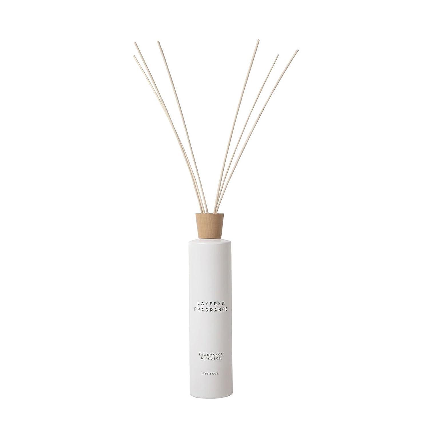 粉砕する探す満たす空間ごとに香りを使い分けて楽しむ レイヤードフレグランス フレグランスディフューザー ハイビスカス 500ml