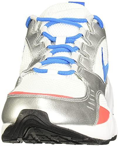 Nike Air Heights, Zapatillas Hombre, Blanco (White/Photo Blue/Mtlc Platinum 102), 43 EU