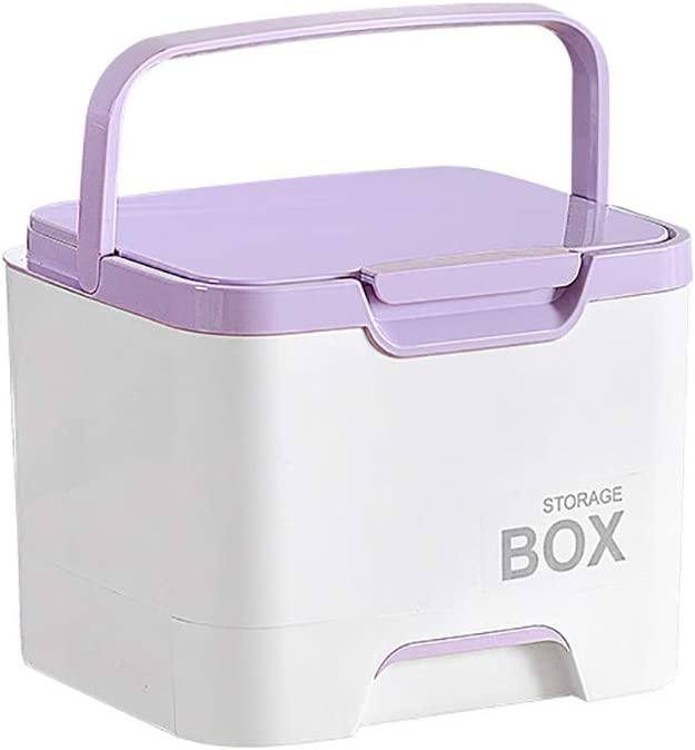 FHealth Latest Max 82% OFF item Plastic First Aid Box Case R Medical Pill with