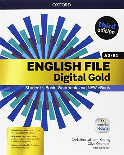 English file gold.A2-B1.Premium.Student's book wb with key with ebk with oosp [Lingua inglese]