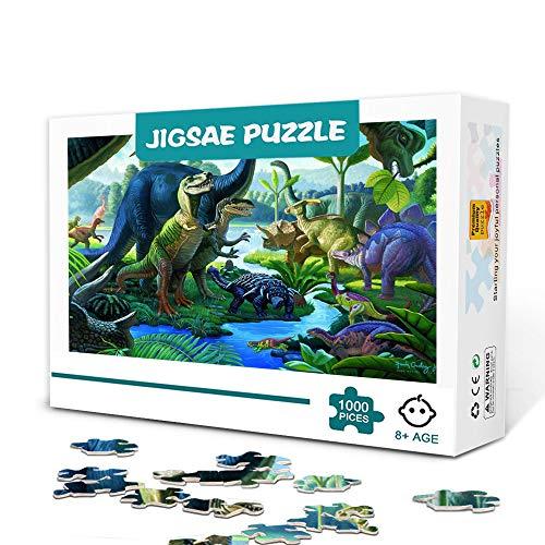 Puzzle da 1000 pezzi per adulti-Land of giants-Giocattoli educativi in legno Regalo fai-da-te Family Fun Jigsaws Puzzle 75x50cm