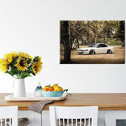 YYCHHHL Moderne Wandplakatkunst JDM Sports car Leinwand Ölgemälde Moderne Malerei für Wohnzimmer große Wandkunst Büro Wanddekoration 61x41 cm (24x16 in)