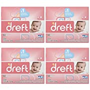 Dreft Baby Original Scent Powder Laundry Detergent 40 Loads, 53 oz (Pack of 4)