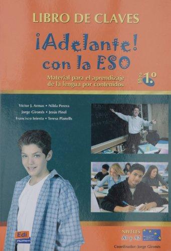 ¡Adelante! con la ESO 1.º - Alumno: Libro de claves (Español Lengua Extranjera)