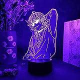 GEZHF 3D ilusión luz LED noche lámpara acrílico BL anime Yarichin perra club Yuri ayato para habitación Cor Yarichin perra Club lámpara Yaoi arte regalos de cumpleaños para niños