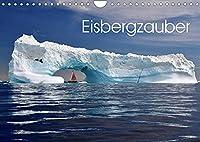 Eisbergzauber (Wandkalender 2022 DIN A4 quer): Eine Zauberlandschaft aus Eis (Monatskalender, 14 Seiten )