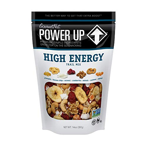 Power Up Trail Mix, High Energy Trail Mix, Keto-Friendly,...