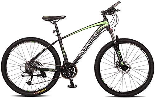 Syxfckc Bicicleta de montaña de 27 velocidades, neumáticos