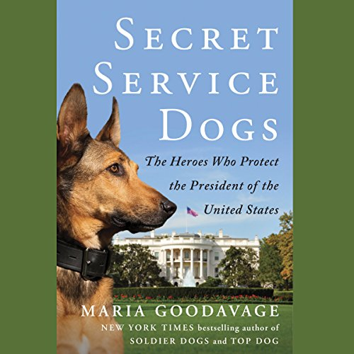 Secret Service Dogs audiobook cover art