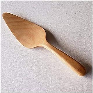 使いやすい 自然素材で作った 木製 ケーキサーバー ツゲ製 ショップSai