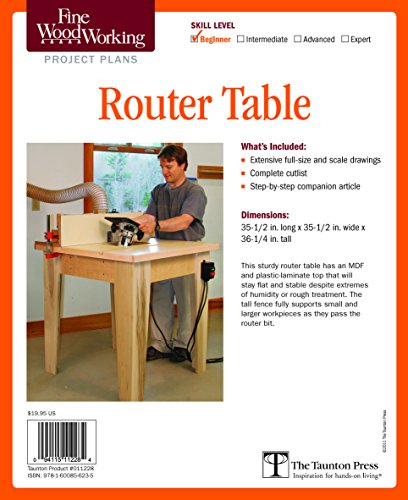 Fine Woodworking's Router Table Plans (Fine Woodworking Project Plans)