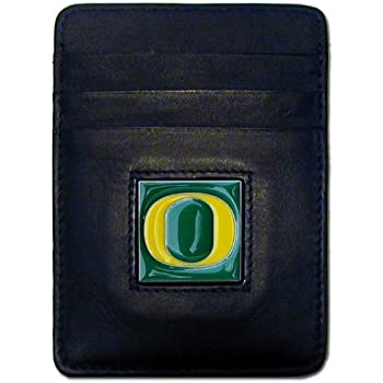 NCAA Leather Money Clip//Cardholder