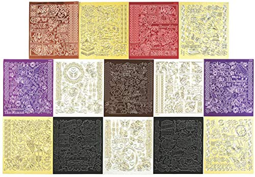 Paper Wishes – Dazzles Stickers Collection | Unique Stickers for Scrapbooking, Cardmaking, Gifts and All of Your DIY Crafting, Art and Creative Projects - Inspiration at Your Fingertips
