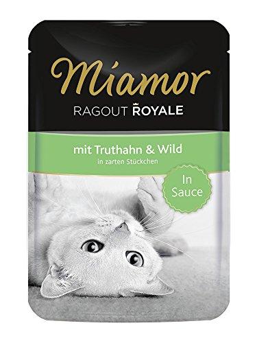 Miamor Katzenfutter Ragout Royal Truthahn+Wild 100 g, 22er Pack (22 x 100 g)