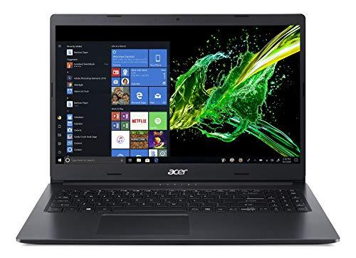 Acer Aspire 3 A315-55G-5364 Notebook con Processore Intel Core i5-10210U, Ram 8 GB DDR4, 512GB PCIe NVMe SSD, Display 15,6' FHD LED LCD, Scheda Grafica NVIDIA GeForce MX230 2GB, Windows 10 Home, Nero
