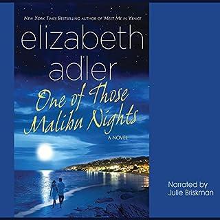 One of Those Malibu Nights audiobook cover art