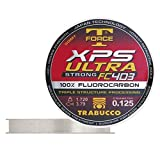 Trabucco Hilos de Pesca XPS Ultra Strong FC 403 T-Force 50 m 0.125 mm Fluorocarbono Spinning Surfcasting Boloñesa
