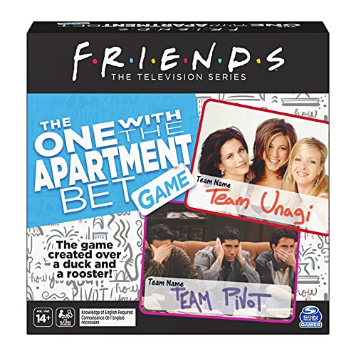 Spin Master Games Friends TV Show, The One with the Apartment Bet Party...