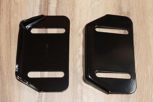 Lawnmowers Parts 2(Zwei) rutschigen Slide Schuhe ersetzen 784–5580, 784–5580–0637Passt Cub Cadet MTD Yardman Schneefräse Thrower