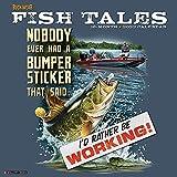 Buck Wear s Fishing Tales 2022 Wall Calendar