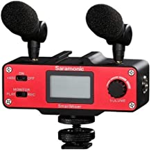 Saramonic SmartMixer Professional Recording Stereo Microphone Rig for iPhone and Android Smartphones