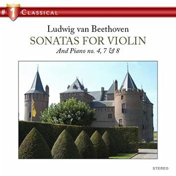Sonatas for Violin and Piano No. 4, 7 and 8