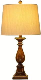 Lampe de Table en résine américaine rétro Simple Style européen Chambre Lampe de Chevet Lampe Chaude Romantique Salon Lamp...