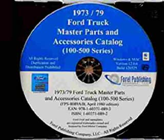 1973 1974 1975 1976 1977 1978 1979 FORD F100 F150 F250 F350 F400 F500 PICKUP & TRUCK FACTORY MASTER PARTS ACCESSORIES CATALOG CD-ROM