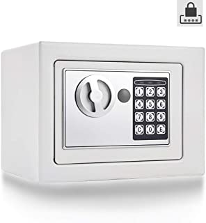 Small Electronic Digital Security Safe Box Fireproof - Keypad Combination Lock Security Cabinet for Home Office Business J...