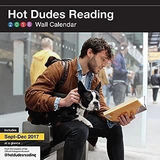 hot dudes reading calendar