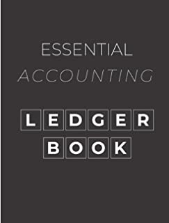 Essential Accounting Ledger Book: A Book For Financial Transaction Tracker & Book-keping
