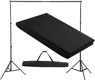 EBTOOLS- Sistema de Fondo de Apoyo, Kit de Soporte Estante de Fondo Telón de Fondo Fotografía para Retratos Fotografía de ...