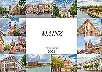 Mainz Impressionen (Wandkalender 2022 DIN A3 quer): Einmalig schoene Bilder der Landeshauptstadt Mainz (Monatskalender, 14 Seiten )