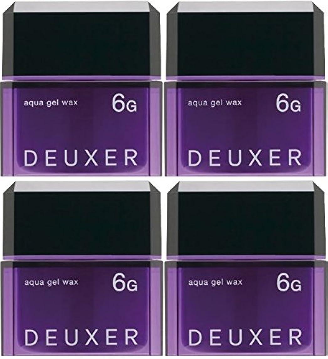 富豪車遺跡【X4個セット】 ナンバースリー デューサー アクアジェルワックス 6G 80g