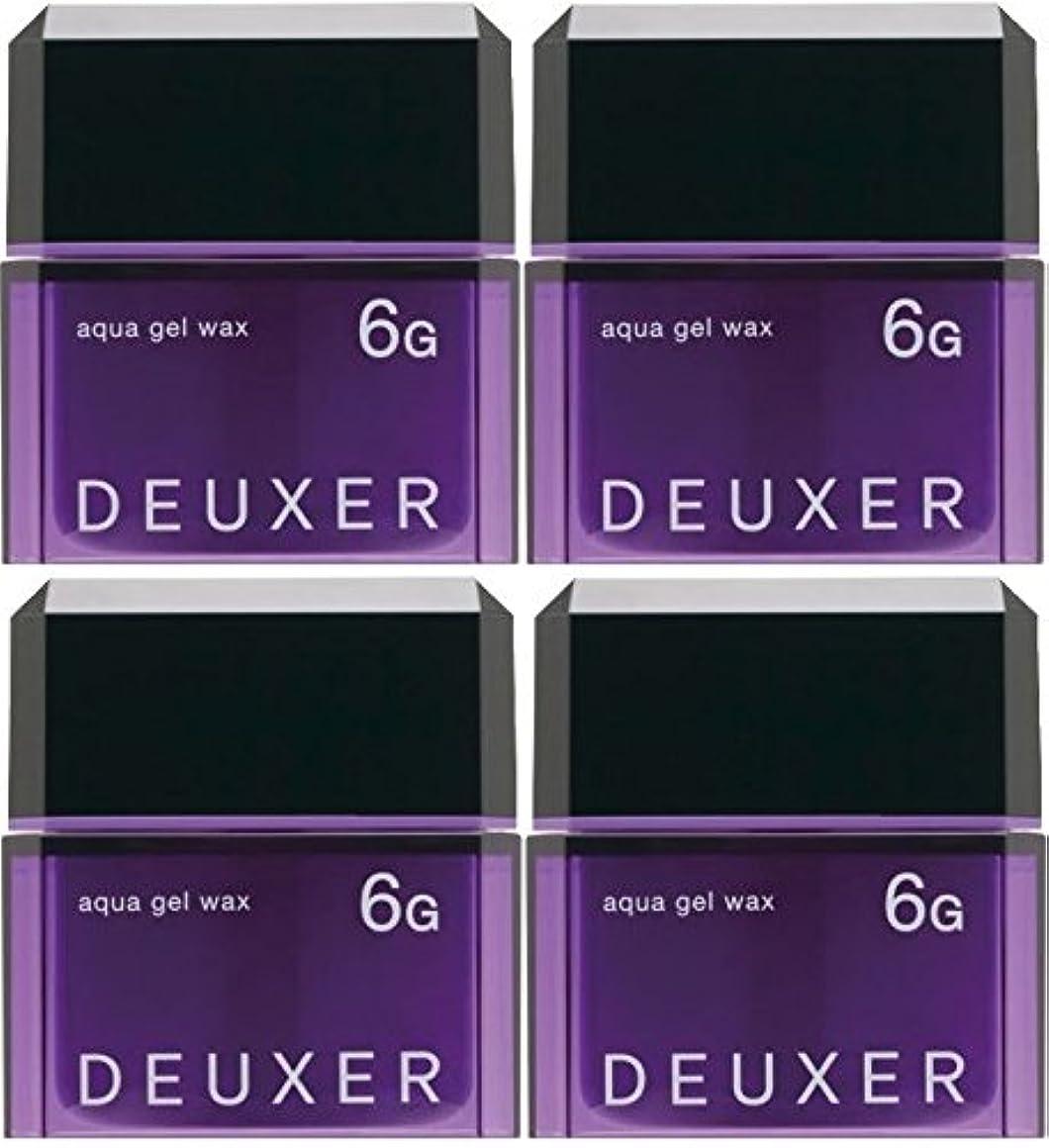 レベルボルト発明【X4個セット】 ナンバースリー デューサー アクアジェルワックス 6G 80g