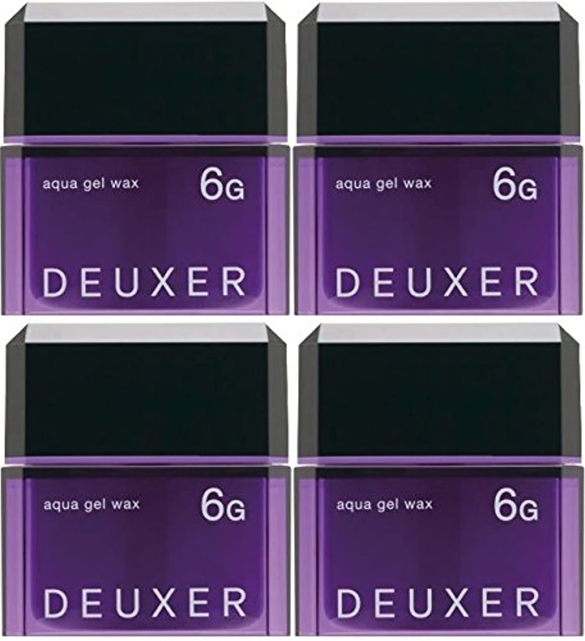 ダイアクリティカル追加爵【X4個セット】 ナンバースリー デューサー アクアジェルワックス 6G 80g