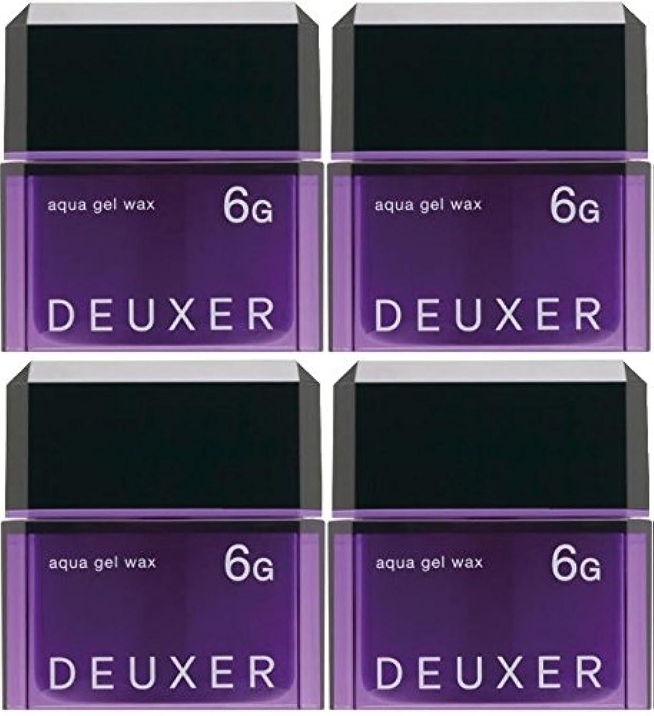 鳩キノコ風味【X4個セット】 ナンバースリー デューサー アクアジェルワックス 6G 80g