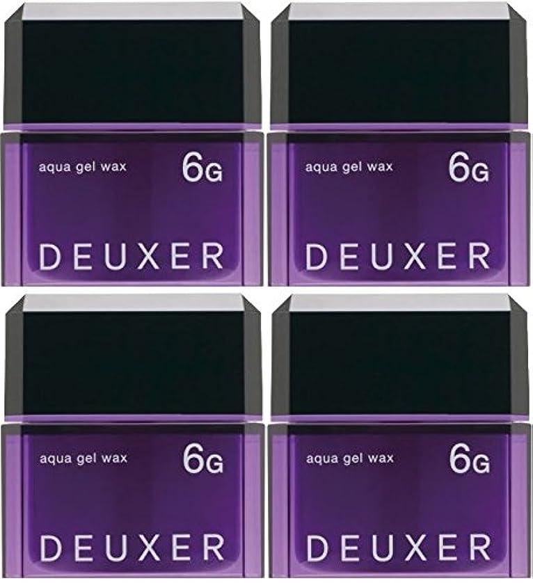 アフリカ人食料品店賛辞【X4個セット】 ナンバースリー デューサー アクアジェルワックス 6G 80g