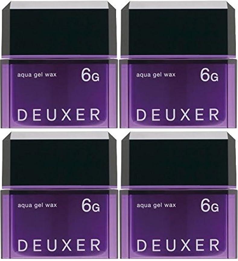 お茶統計レオナルドダ【X4個セット】 ナンバースリー デューサー アクアジェルワックス 6G 80g