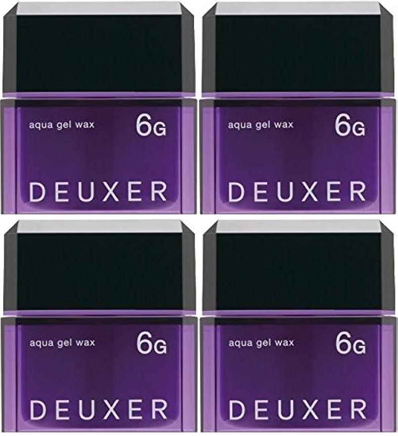 財政パス差別的【X4個セット】 ナンバースリー デューサー アクアジェルワックス 6G 80g