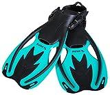 PiNAO Sports - Verstellbare Taucherflossen für Kinder, Größe S - XL [Schwimmflossen, Tauchen,...