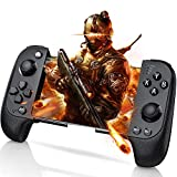 Wireless Mobile Game Controller for PUBG, Phone Game Remote Gamepad for iPhone/iOS&Andriod, Phone Controller with Bluetooth